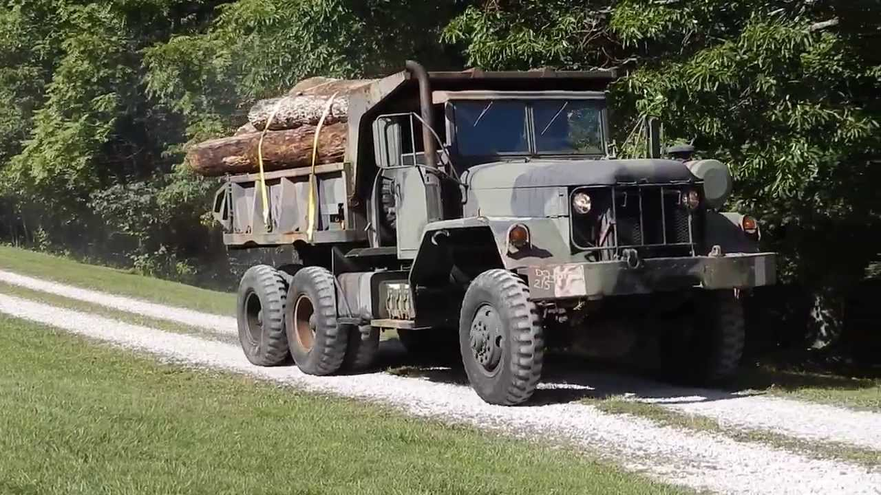 Dump Truck Military M817 Video For Sale Youtube