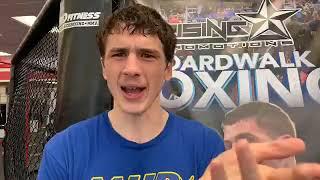 Thomas LaManna talks July 20th fight with Carlos Garcia Hernandez