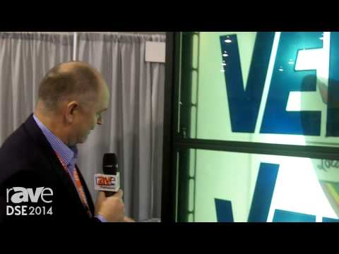 DSE 2014: VER Shows Off the Reveal G55 Transparent LCD Video Array with Rigability