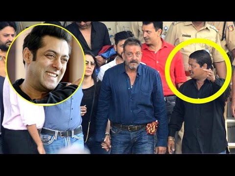 Salman Sends Personal BODY Guard For Sanjay Dutt After Coming Out Of Jail