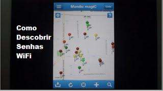 Como Descobrir Senhas de Rede WiFi - Dica de App #2 - Mandic Magic