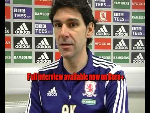 YouTube video: Aitor Karanka reflects on his first year as Boro head coach