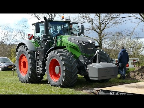 Fendt 1050 Vario Testing The Sledge at Gl. Estrup | Tractor Pulling Denmark