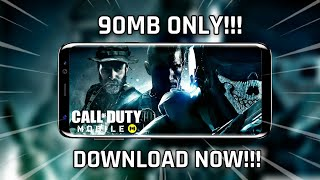 [90MB] Download Call Of Duty Mobile Highly Compressed On Android Phone   COD Mobile 90MB Download🔥