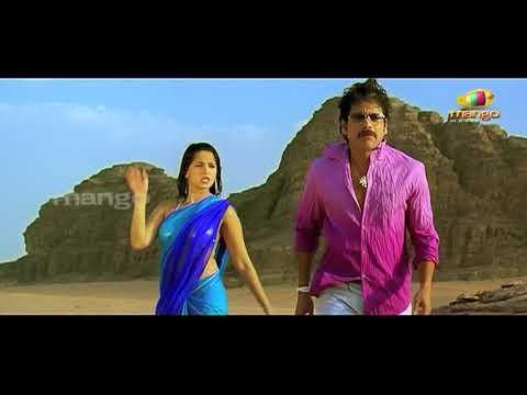 Sirisha Sirisha Full Video Song  Ragada Video Songs  Nagarjuna  Anushka  Priyamani  Mango Music
