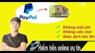 Hưỡng dẫn rút tiền từ paypal về tài khoản ngân hàng Việt Nam mới nhất  by Trần Quyền Linh