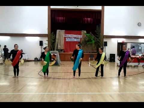 Modern Muslim Fan Dance