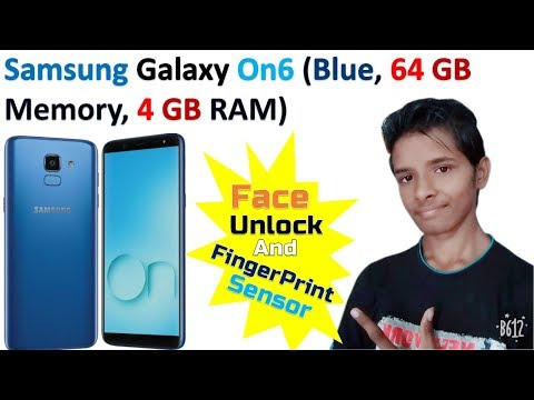 Samsung Galaxy On6 (Blue, 64 GB Memory,4 GB RAM) | Face Unlock & Fingerprint Sensor