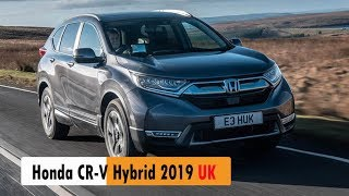 2019 Honda CR V Hybrid UK review