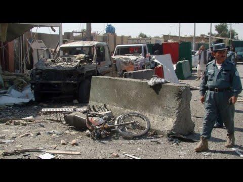 AFGHAN ON  FIRE:Suicide blast kills policeman in south Afghanistan