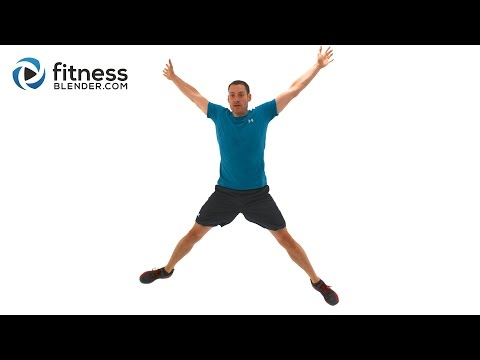 15 Minute Total Body HIIT Workout - Advanced Bodyweight Exercises to Burn Fat Fast Image 1