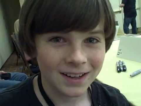 Chandler Riggs interview