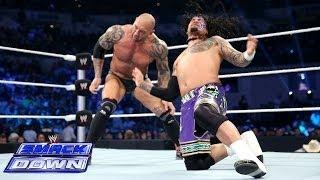 Daniel Bryan & The Usos vs. Randy Orton, Batista & Kane: SmackDown, April 11, 2014