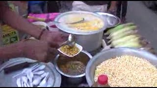 Download Indian Street Foods Kolkata | Hot Masala (Food) Corn With Butter | Bengali Street Foods, India 3Gp Mp4