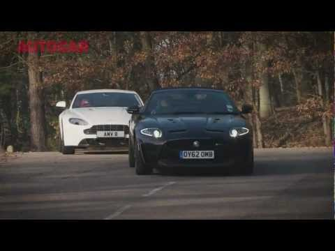 Aston Martin V8 Vantage vs Jaguar XKR-S - autocar.co.uk