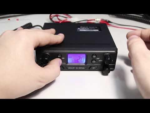 Мини обзор радиостанции MegaJet MJ-350 Turbo (4Color)