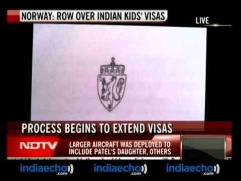 Norway-Row Over Indian Kids Visas-Indiaecho.com