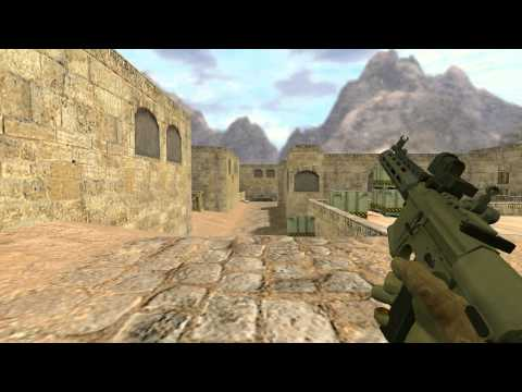 |CSGO to CS 1.6| AAC Honey Badger (2012)