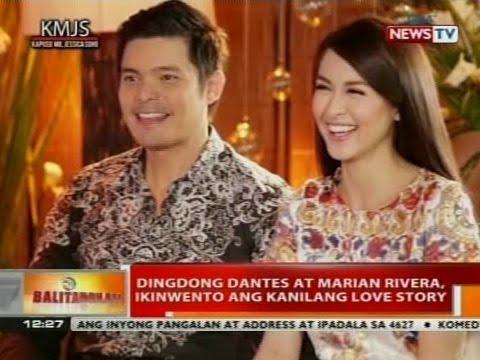 BT: Dingdong Dantes at Marian Rivera, ikinwento ang kanilang love story