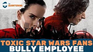 SJW Star Wars Fans BULLY Star Wars Employee Off Of Twitter (Media Totally Silent)