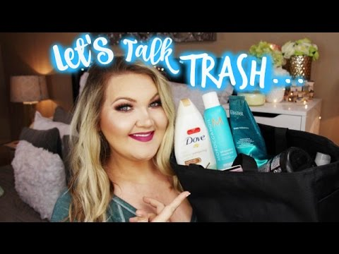 LET'S TALK TRASH   BEAUTY EMPTIES + MINI REVIEWS (JAN 2017)