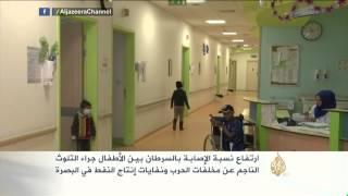 ارتفاع نسبة الإصابة بالسرطان بين الأطفال بالبصرة