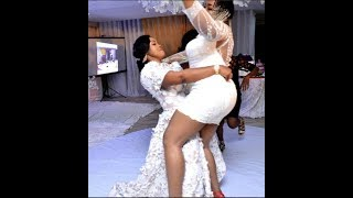 "LOL! Kemi Afolabi Dances ""ONE CORNER"" With Mercy Aigbe At Her 40th Birthday Party"