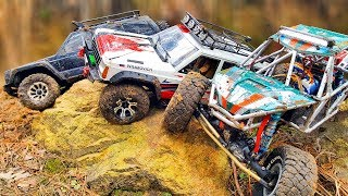 RC Cars Forest OFF Road – Axial SCX10 II - Jeep Cherokee, Axial Bomber — Wilimovich