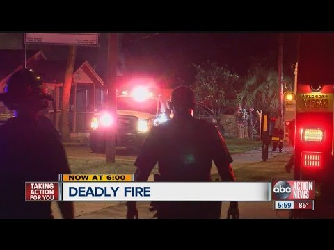 911 calls released after fatal Tampa fire