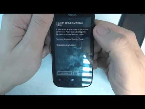 Nokia Lumia 510 - How to reset - Como restablecer datos de fabrica