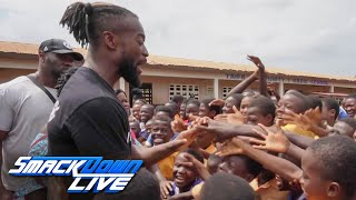 Follow Kofi Kingston on his return to Ghana: SmackDown LIVE, June 4, 2019