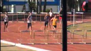 Atletismo 400 Metros con Vallas Contra Reloj Final Varonil 2ª Carrera Universiada Nacional 2013