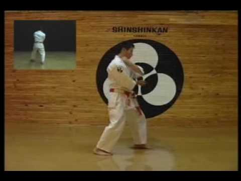 SHINSHINKAN ISSHIN RYU KARATE  - SUNSU KATA IN DOJO