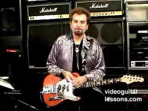 Rockablilly Guitar Lesson Will Ray @ Videoguitarlessons.com