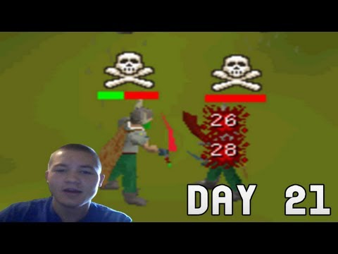Runescape 2007: Zerker Fire Cape Pking Commentary - Face Cam - 1 Month Marathon Day 21