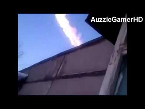 METEOR SHOWER in Russia 2013 - BREAKS WINDOWS!!! - 15/2/13