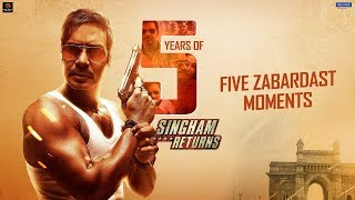 5 Years of Singham Returns | 5 Zabardast Moments | Ajay Devgn, Kareena Kapoor | Rohit Shetty