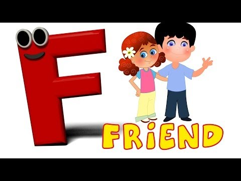 Phonics Letter- F song  Kids Tv Nursery Rhymes S01EP156