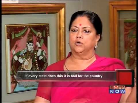 The Real Politik - Vasundhara Raje - Full Episode