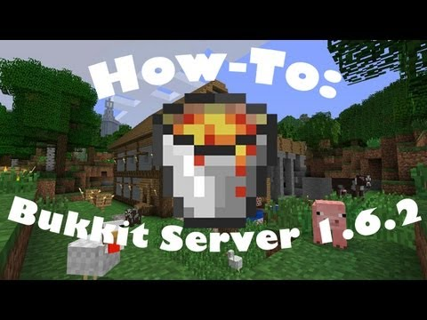 How To: Make a 1.6.2 Minecraft Bukkit Server on Mac
