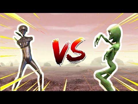 Howard the Alien VS Dame tu Cosita