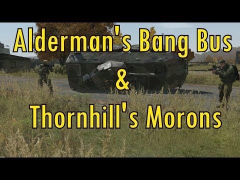Alderman's Bang Bus & Thornhill's Morons (milgo) video