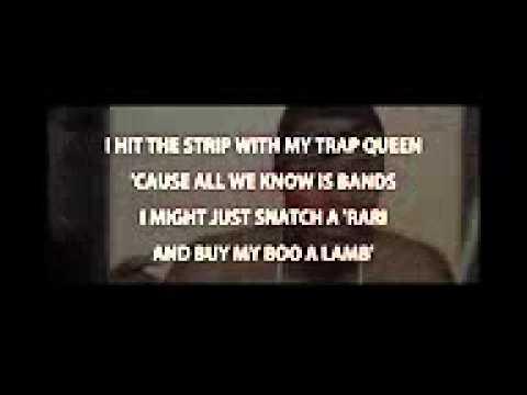 Fetty Wap- Trap Queen Lyrics video