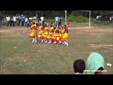 Santhali ( Santali )  Dance Performance Song  A Mai Dorya Bhitir Te video