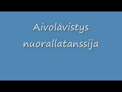 Aivolavistys - Nuorallatanssija