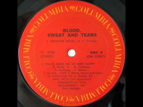 Blood Sweat And Tears Spinning Wheel 1969 Classicrock