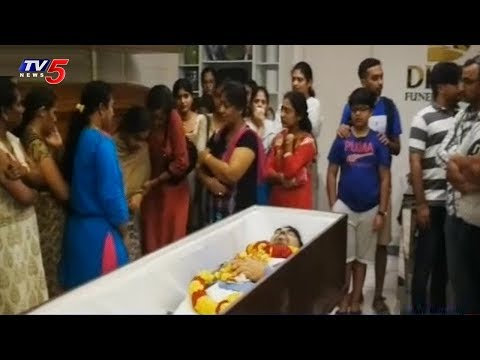 Telangana Cultural Society Vice President Burla Srinivas Passes Away | Singapore | TV5 News