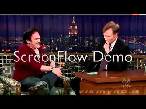 Quentin Tarantino talks about Iceland (Conan O'Brien Show)