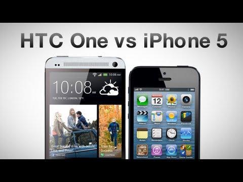 HTC One против iPhone 5. Что брать? Сравнение AppleInsider.ru
