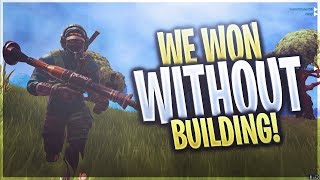 We won without building! ft. Typical Gamer, Avxry, and Vikkstar